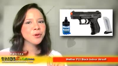 Walther P22 Black Indoor Airsoft Review | CrimeSolutions