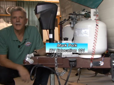 rv 101® how to install an electric tongue jack the 1 rv video  wiring electric trailer jack #14