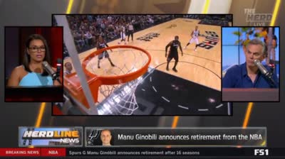 Legend: Manu Ginobili Announces Retirement From NBA After 16 Seasons With The San Antonio Spurs!