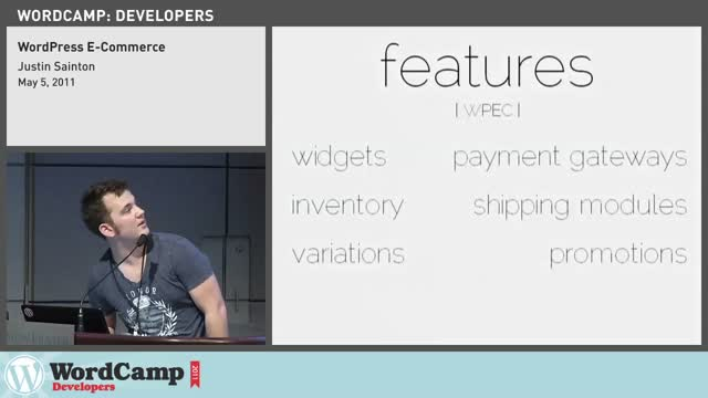 Justin Sainton: WordPress e-Commerce
