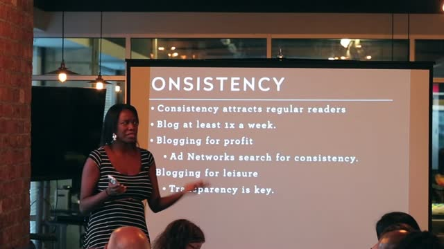 Angel Yarde: Blogging for Longevity, Blog Organization and Consistency
