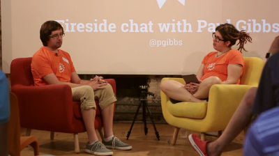 Paul Gibbs and Tammie Lister: Fireside Chat with Paul Gibbs (part 2 of 2)