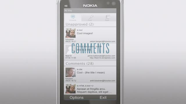 Introducing WordPress For Nokia