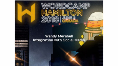 Wendy Marshall: Integration with Social Media