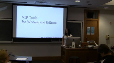 Steph Yiu: VIP Tools For Writers And Editors