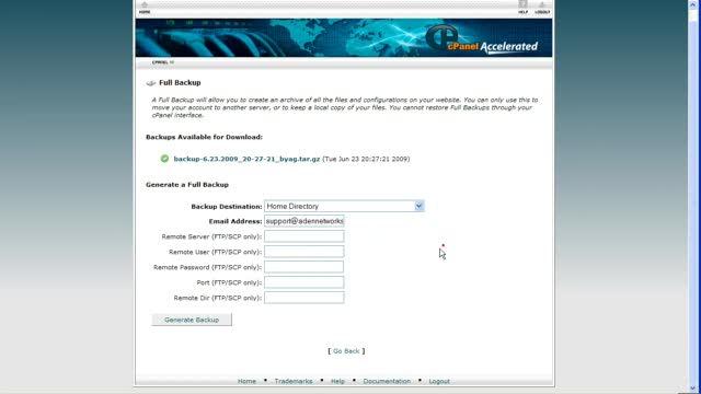 Upgrade WordPress 2.7 to 2.8 in CPanel - WordPress.tv