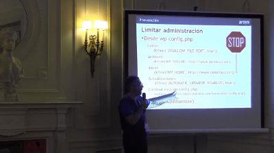 Jorge Fernández: Como evitar y solucionar los errores más habituales cuando trabajamos con WordPress