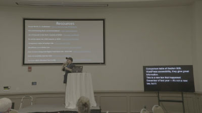 Joseph LoPreste: Web Accessibility made easy for WordPress