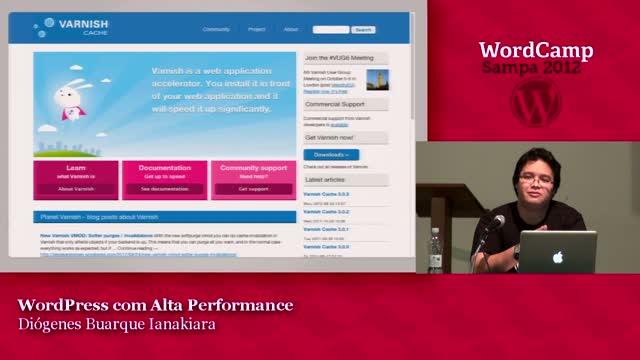 Diogenes Buarque Ianakiara: WordPress com Alta Performance
