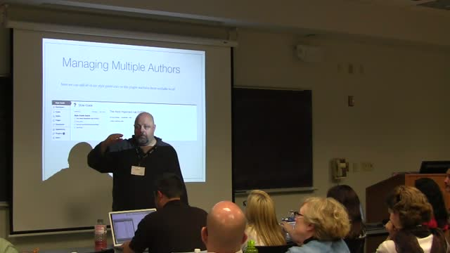 Al Davis: Managing Multiple Authors - Creating an Editorial Process