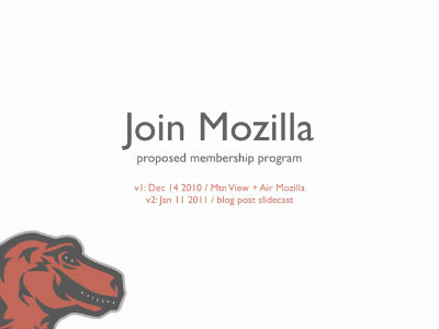 Join Mozilla brownbag video