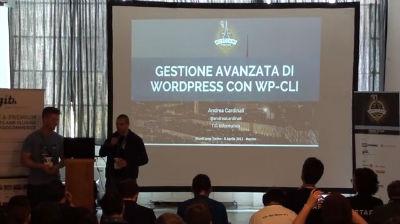 Andrea Cardinali: Gestione avanzata di WordPress con WP-CLI