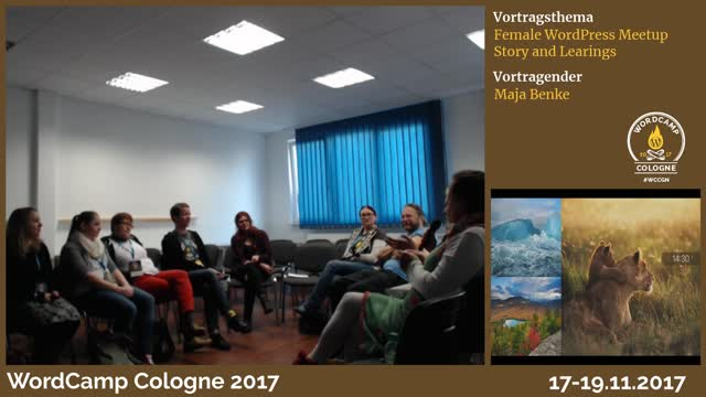Maja Benke:Female WordPress Meetup - Story and Learnings