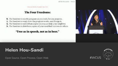Helen Hou-Sandi: Open Source, Open Process, Open Web