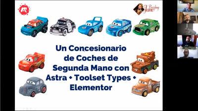 Alfredo Mosquera: Un concesionario de coches de Segunda Mano con CPT, Astra + Elementor