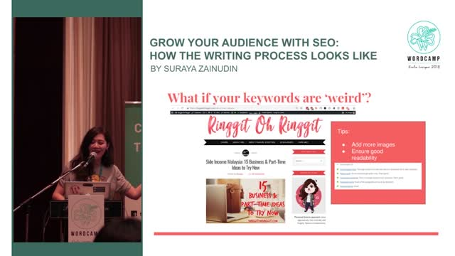 Suraya Zainudin: Grow your audience with SEO - How the writing process looks like