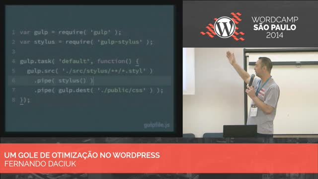 Fernando Daciuk: Um gole de otimização no WordPress