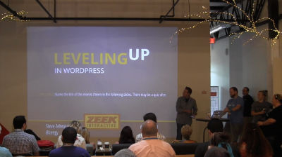 Steve Zehngut: Leveling Up In WordPress