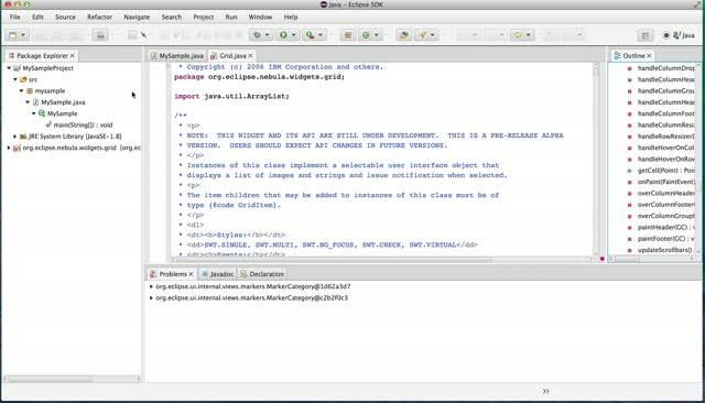Eclipse on JavaFX (a short video) and next steps | Tomsondev
