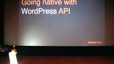 Aleksandar Andrijević: Going Native with the WordPress API
