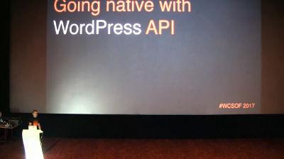 Aleksandar Andrijević: Going Native with the WordPress API