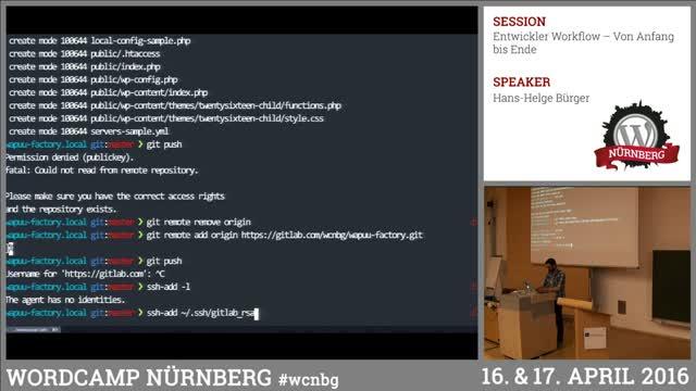 Hans-Helge Bürger: Entwickler Workflow – Von Anfang bis Ende