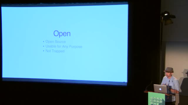 Aaron D. Campbell: Why Open Matters
