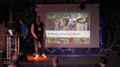 Perttu Tolvanen: WordPress vs. Drupal and EPiServer