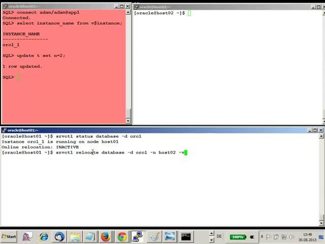 Oracle RAC One Node Video