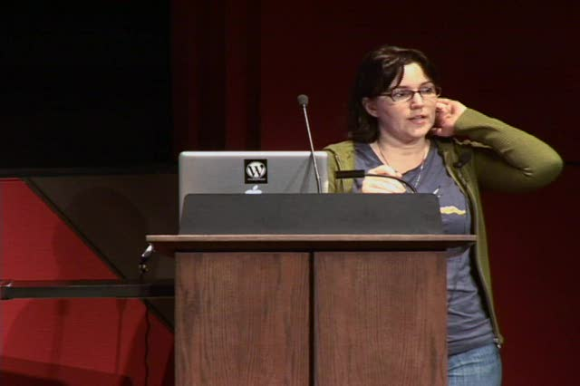 Jane Wells: Open Source Community - WordCamp Denver 2009