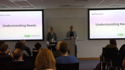 Beatrice Whelan and Sean Blakeley: Building Partnerships, not Projects – with WordPress