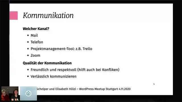 Kirsten Schelper, Elisabeth Hölzl: WordPress-Projekte managen