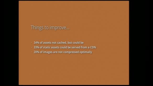 Ilya Grigorik: Measure all things! Automate performance optimization!