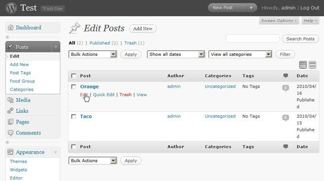 Understanding Taxonomy for WordPress