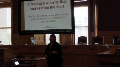Rebecka Hathaway: Creating a Website That Works From the Start