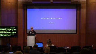 Daniel Olson: Alternative Hacks: WordPress Security From The Outside Looking In
