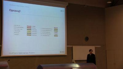 WordPress jako nástroj pro automatizaci digital signage od Jan Horák