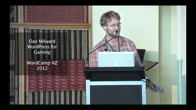 Dan Milward – Gamefroot – WordPress for Gaming