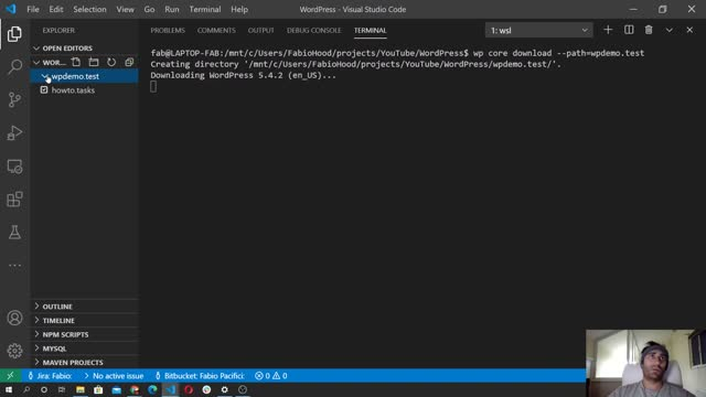 Fabio Pacifici: How To Install WordPress using WP-CLI - #1 Download WordPress