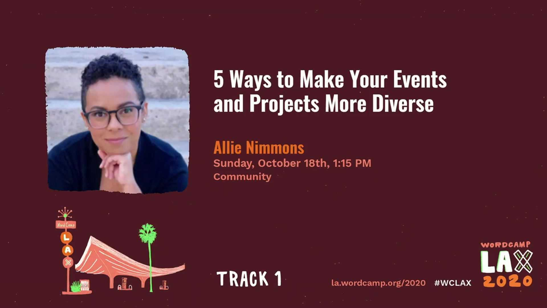 Allie Nimmons: Five Ways to Make Your Events and Projects More Diverse