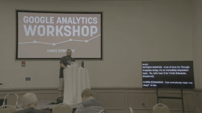 Chris Edwards: Google Analytics Workshop