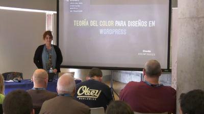 Mónica Martín: Teoría del color para temas WordPress