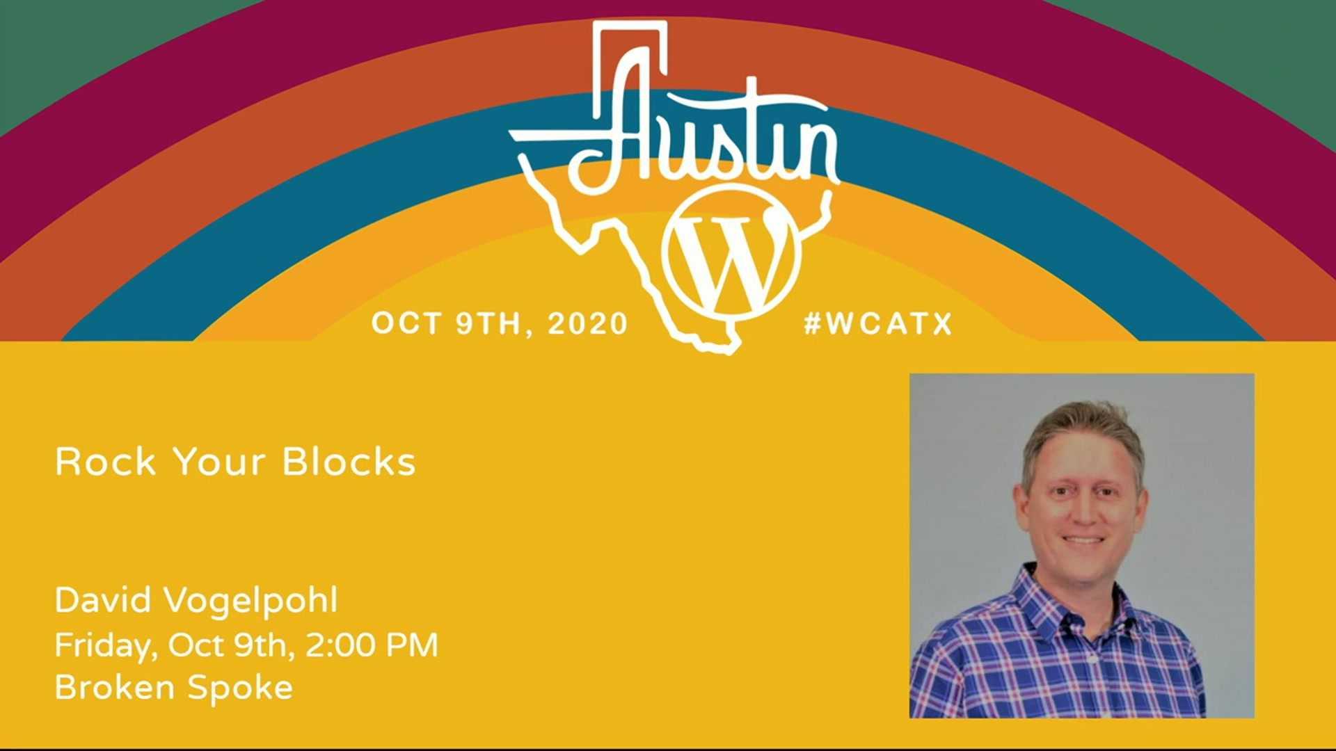 David Vogelpohl: Rock Your Blocks