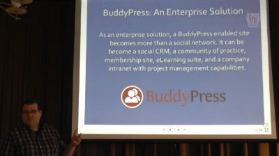 Tim McKenna: BuddyPress - An Enterprise Solution