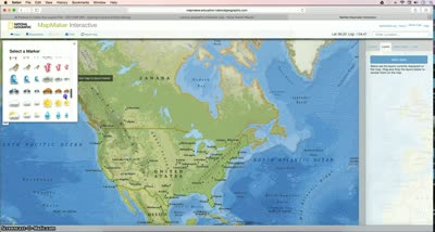 National Geographic Interactive Mapmaker Tutorial | Mr Talbot\'s Class