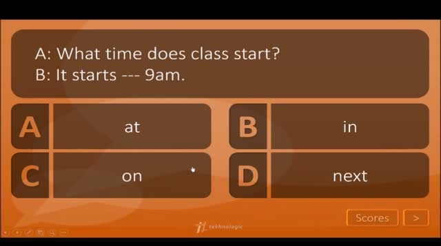 Captivating Class Quiz Demo