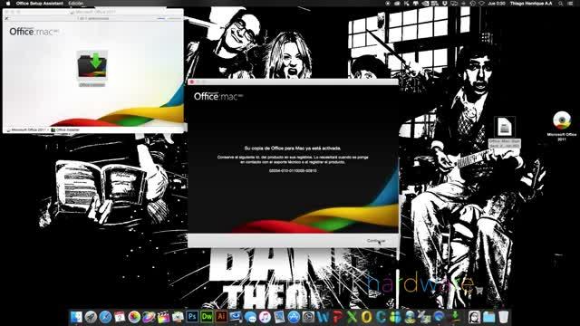 descargar e instalar office 2011 para mac full en español no pide