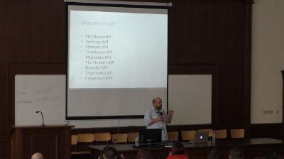 Peter Nikolov: WordPress API - минало, настояще и бъдеще