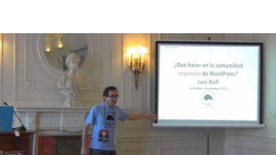 Luis Rull: ¿Que hacer en la comunidad española de WordPress?