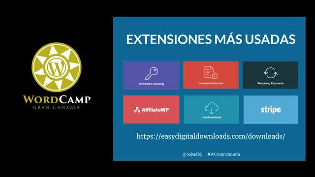 Óscar Abad Folgueira: Vender productos digital con easy digital downloads